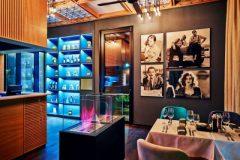 Θέα στο εστιατόριο Leonardo