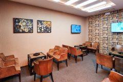 Αίθουσα για καπνιστές εστιατόριο Fondue