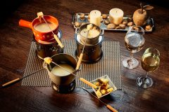 Σοκολάτα fondue