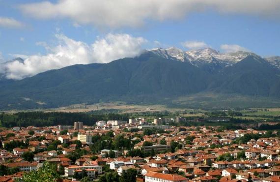 Η πόλη Razlog στην κοιλάδα Razlog | Lucky Bansko