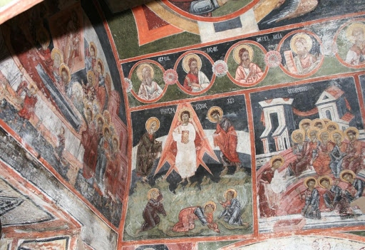 Ο Άγιος Θωοντρός Τιρόν και ο Θεόδωρος Στρατιλάτ στο Ντομπάρσκο | Lucky Bansko