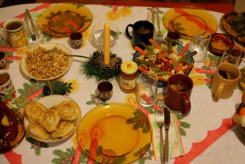 Χριστουγεννιάτικο τραπέζι στο Μπάνσκο | Lucky Bansko SPA & Relax