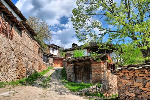 Σπίτι στο χωριό Λέστεν