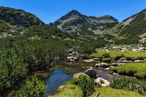 Κορυφές στα βουνά του Πιρίν