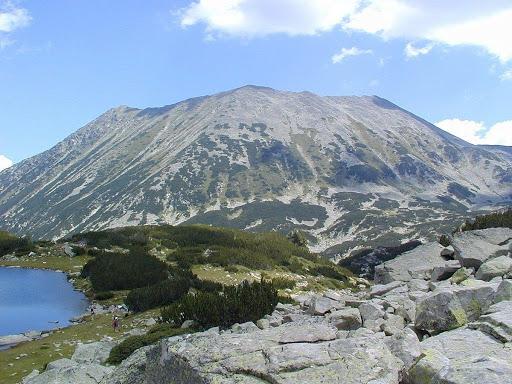 Κορυφή Todorka στα βουνά Πιρίν