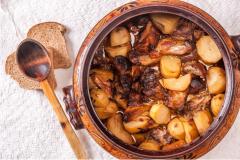 Παραδοσιακή κουζίνα στο Μπάνσκο