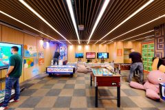 Games hall for children and adults