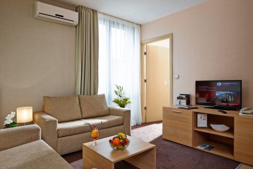 Lucky Bansko Aparthotel SPA & Relax | Σαλόνι σε Στούντιο Πολυτέλειας