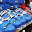 Χώροι αποθήκευσης εξοπλισμού σκι με θερμαντήρες για τις μπότες του σκι