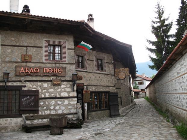 """Το σπίτι """"Dyado Pene"""" Μπάνσκο"""